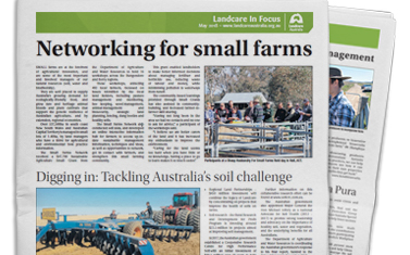 Landcare in Focus – May 2018